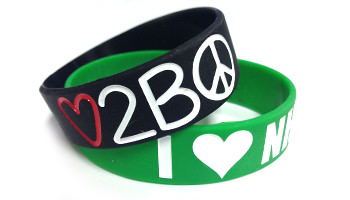 Three Quarter Inch Wristband